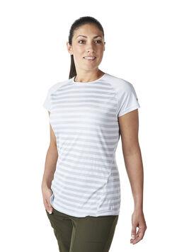 Women's Striped Short Sleeve Basecrew