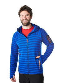 Men's Tyndrum Stripe Hooded Jacket