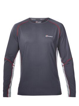 Men's Long Sleeve Crew Neck Tech T-Shirt