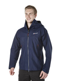 Hybrid men's waterproof jacket