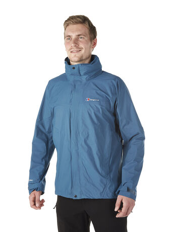 Light hike men's waterproof jacket