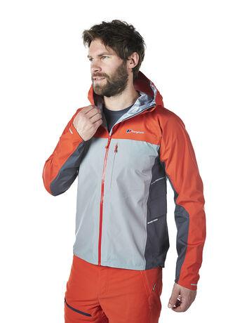 Vapour storm active men's waterproof jacket