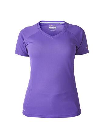Women's Short Sleeved V Neck Tech T-Shirt