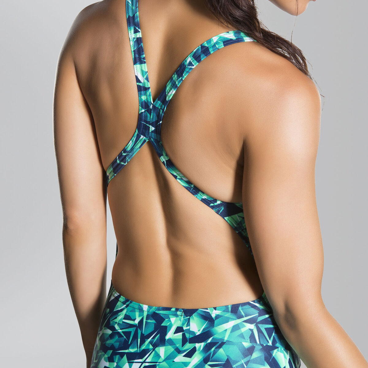 Rotoscope Allover Powerback Swimsuit