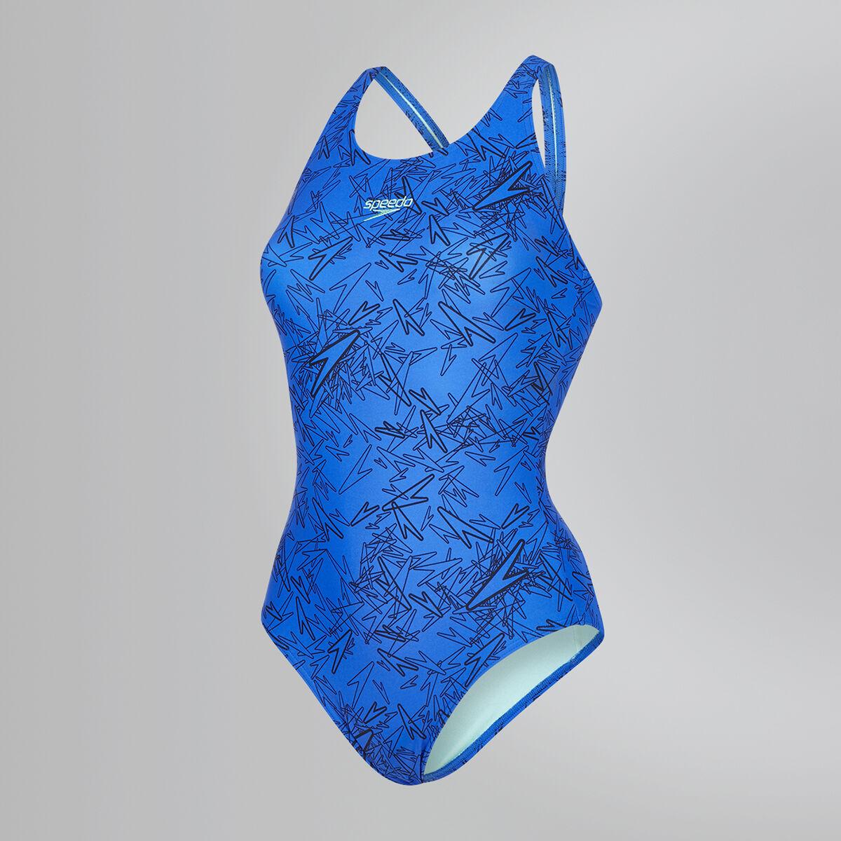 Boom Allover Muscleback Swimsuit