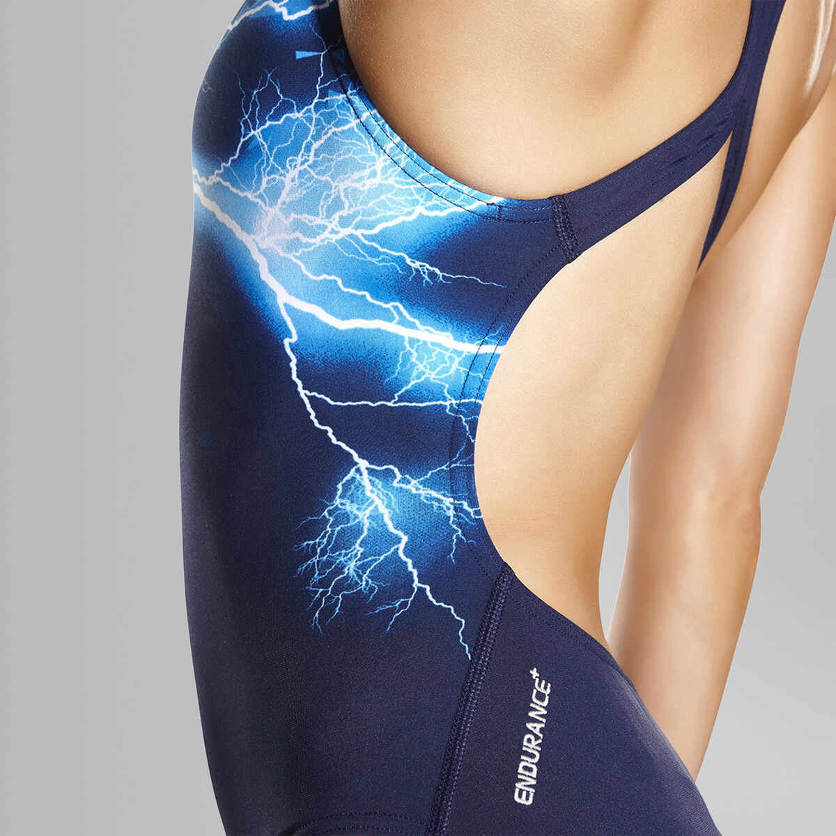 Groove Glow Powerback Swimsuit