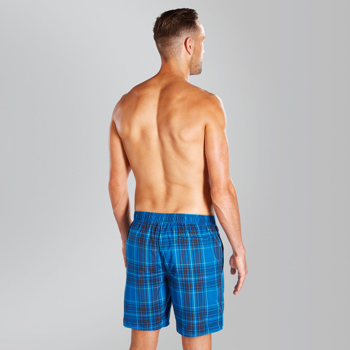 "Vintage Printed 14"" Swim Shorts"