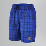 Men's Checked Leisure Swim Short