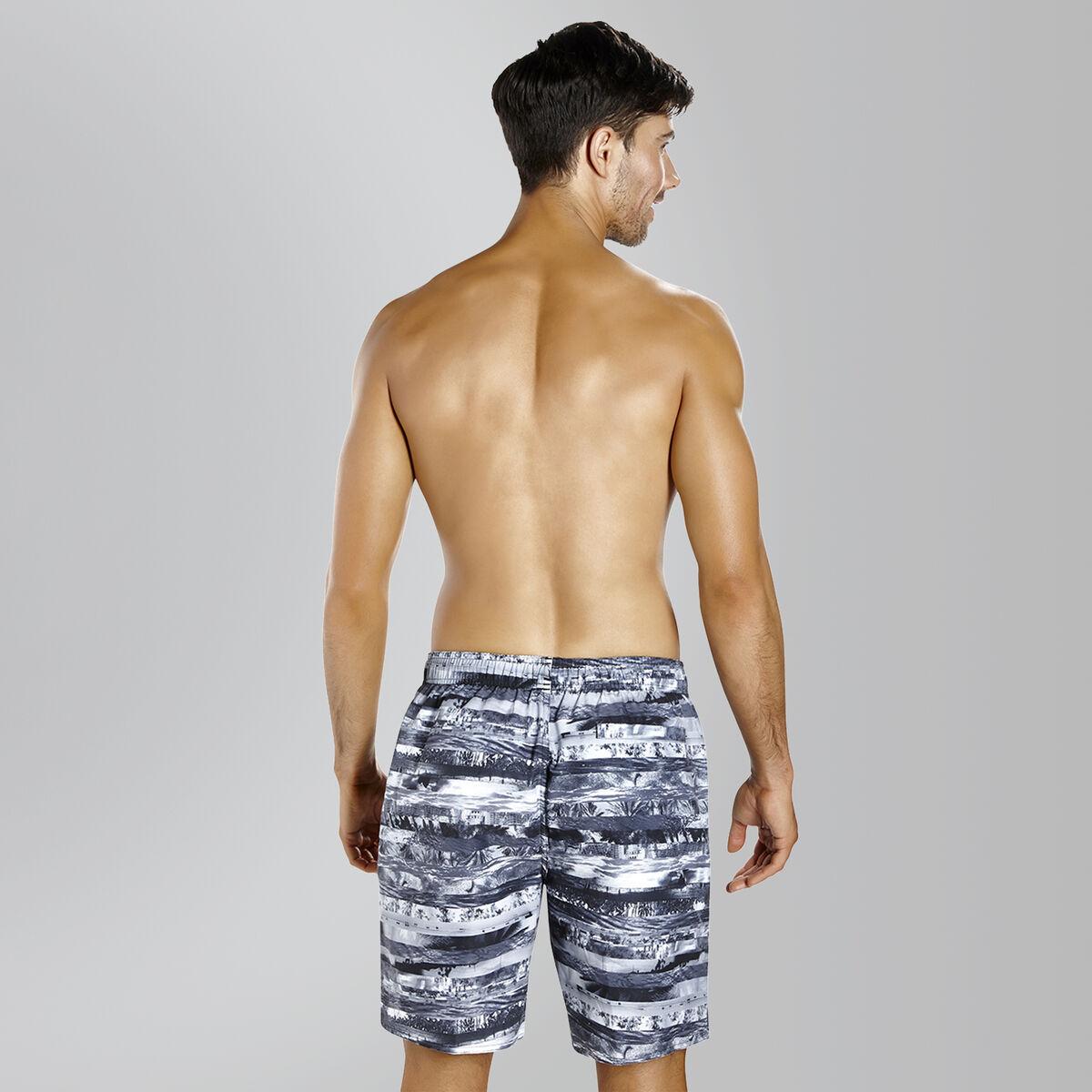 "Printed Leisure 18"" Swim Shorts"