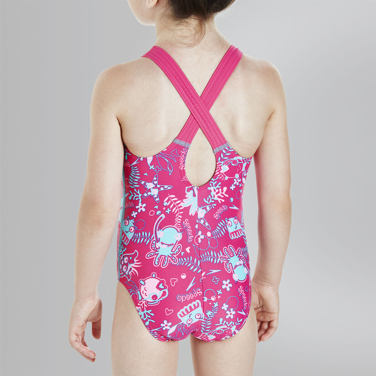Seasquad Allover Swimsuit