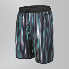 "Glide Printed 18"" Swim Shorts"