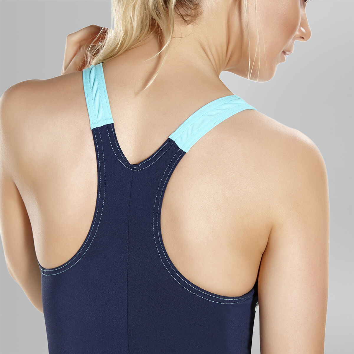 Boom Splice Racerback Swimsuit