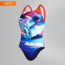 Solar Surface Powerback Swimsuit