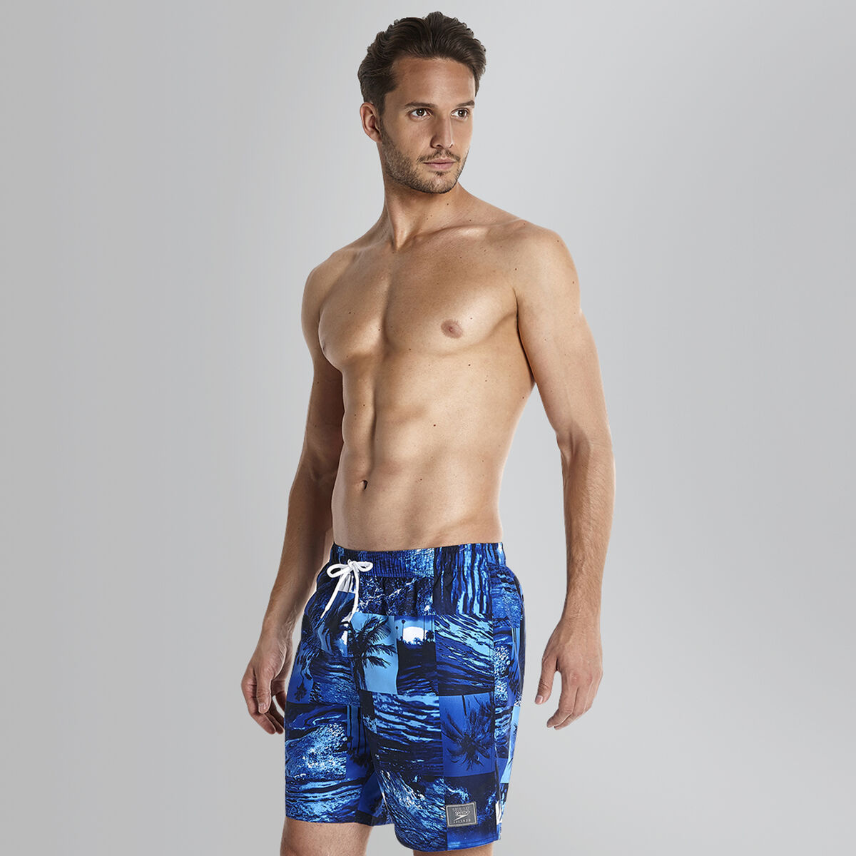 Printed Leisure Swim Shorts