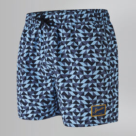 "Vintage Printed 14"" Swim Shorts"