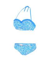 Damen Allover Print Halterneck Bikini