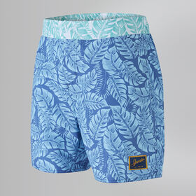 "Vintage Printed 16"" Swim Shorts"