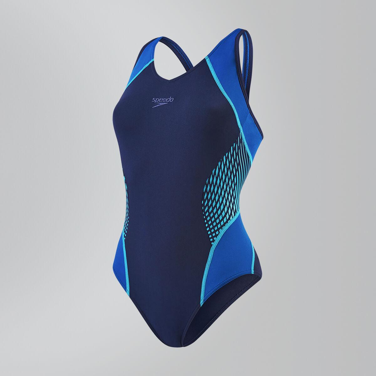Speedo Fit Splice Muscleback Swimsuit