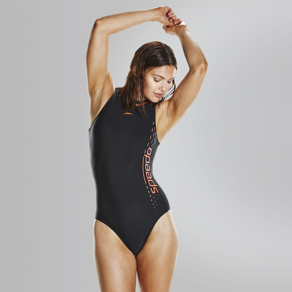 Hydrasuit Splice Logo Swimsuit