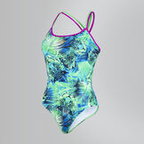 Women's Junglewave Double Crossback Swimsuit
