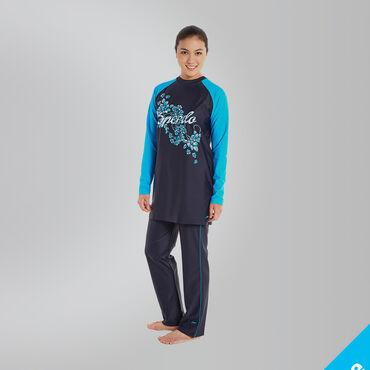 Women's 3 Piece Full Body Swimsuit