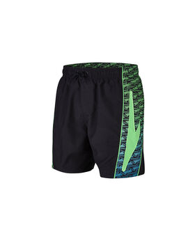 Men's Sports Printed Swim Shorts