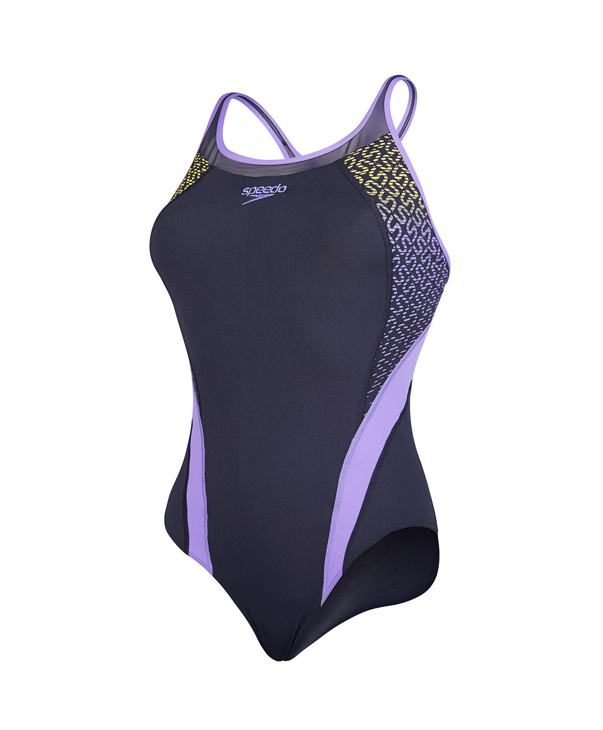 Women's Speedo Fit Body Positioning Kickback Swimsuit