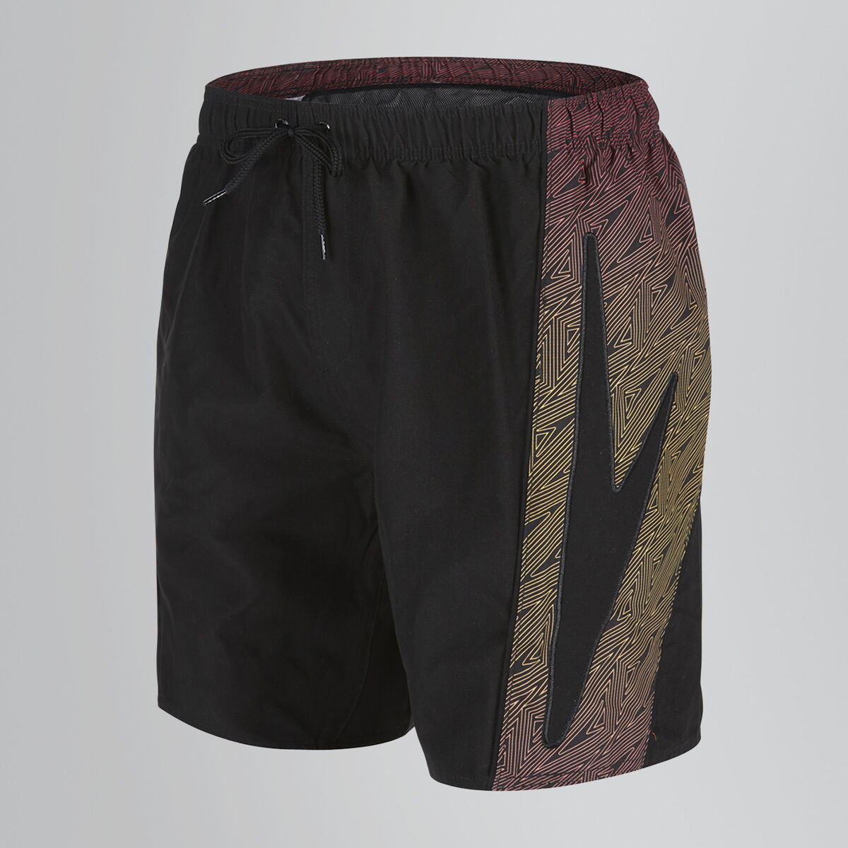 "Sports Print Splice 16"" Swim Short"