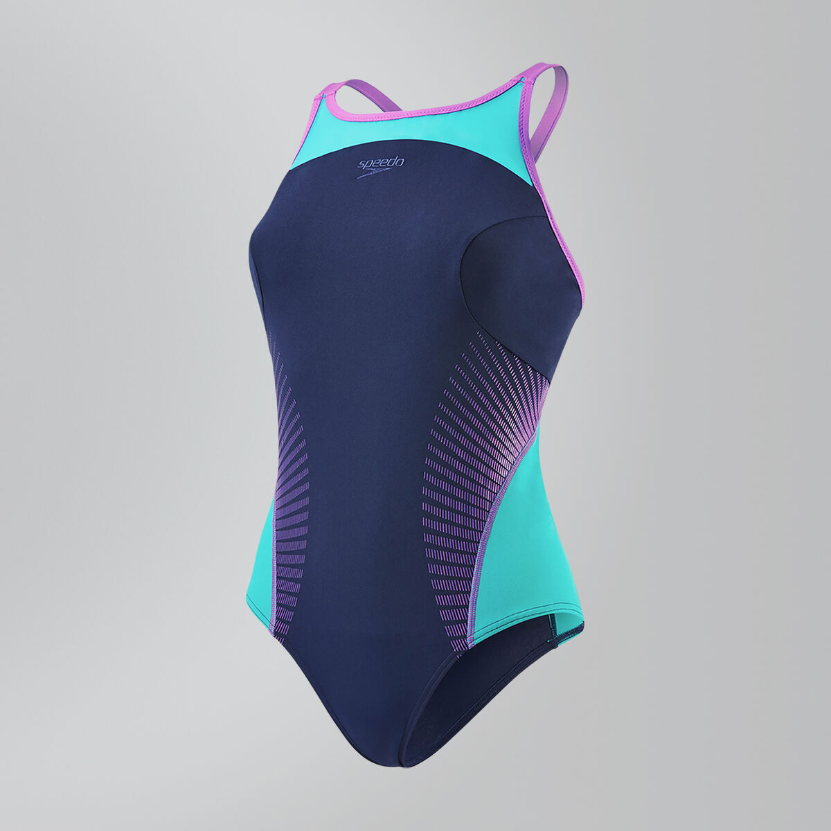 Speedo Fit Splice Xback Swimsuit
