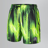 Men's Printed Check Leisure Swim Shorts