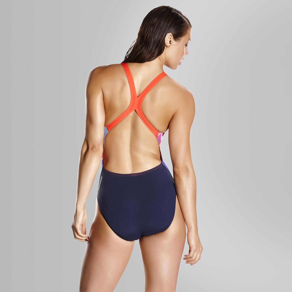 Solar Surface Powerback Swimsuit