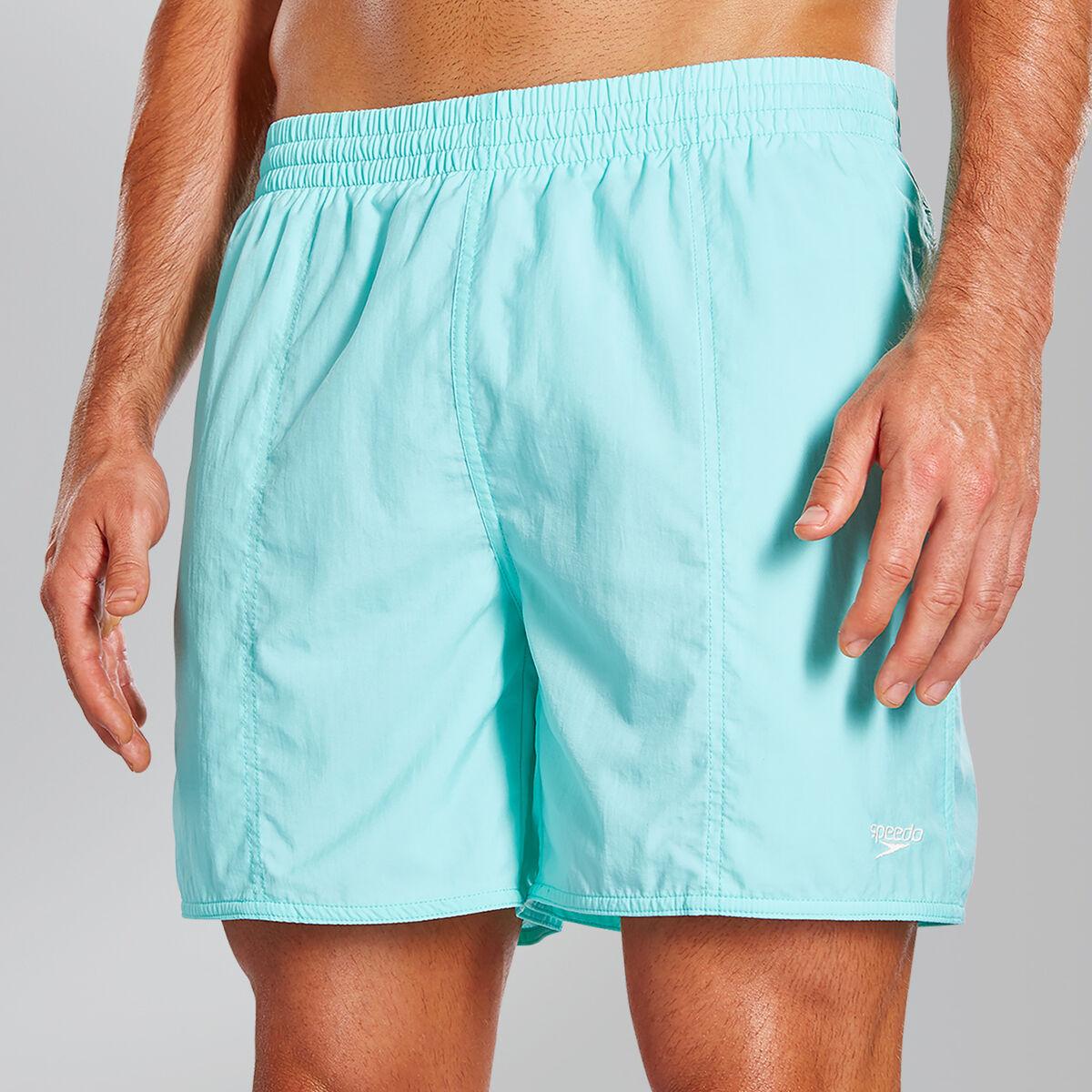 "Solid Leisure 16"" Swim Shorts"