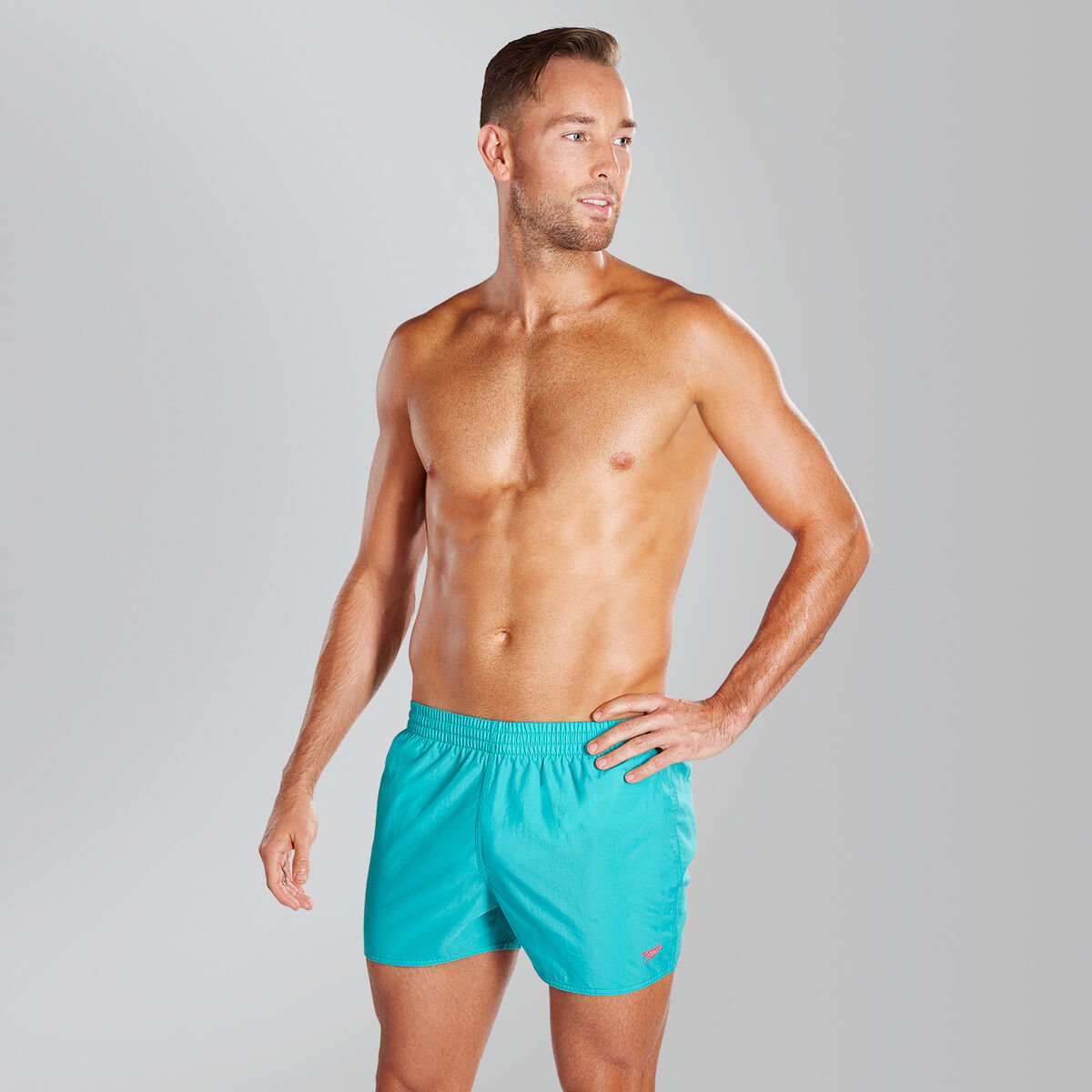 """Fitted Leisure 13"""" Swim Shorts"""
