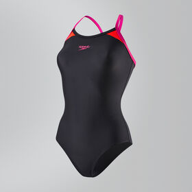 Splice Thinstrap Racerback Swimsuit