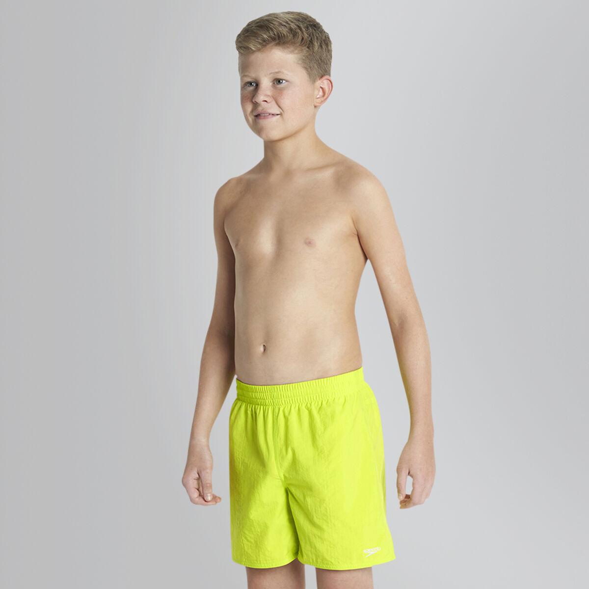 Solid Leisure Swim Shorts