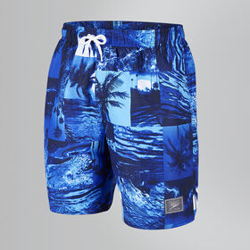 Printed Leisure Swim Shorts