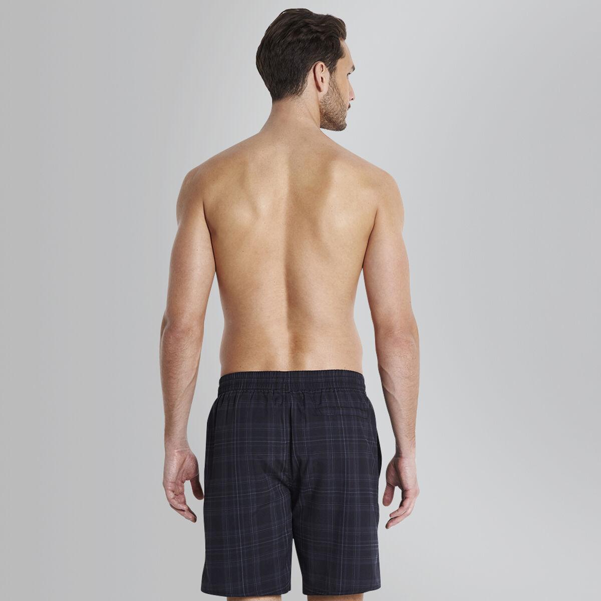 Checked Leisure Swim Short