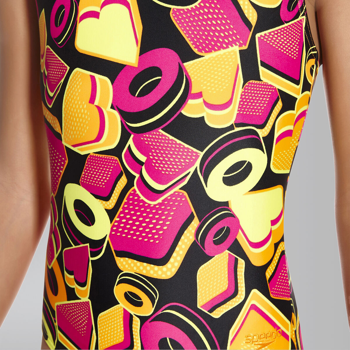 Ignition Pop Crossback Swimsuit