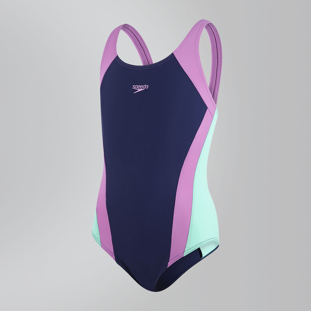 Contrast Splashback Swimsuit
