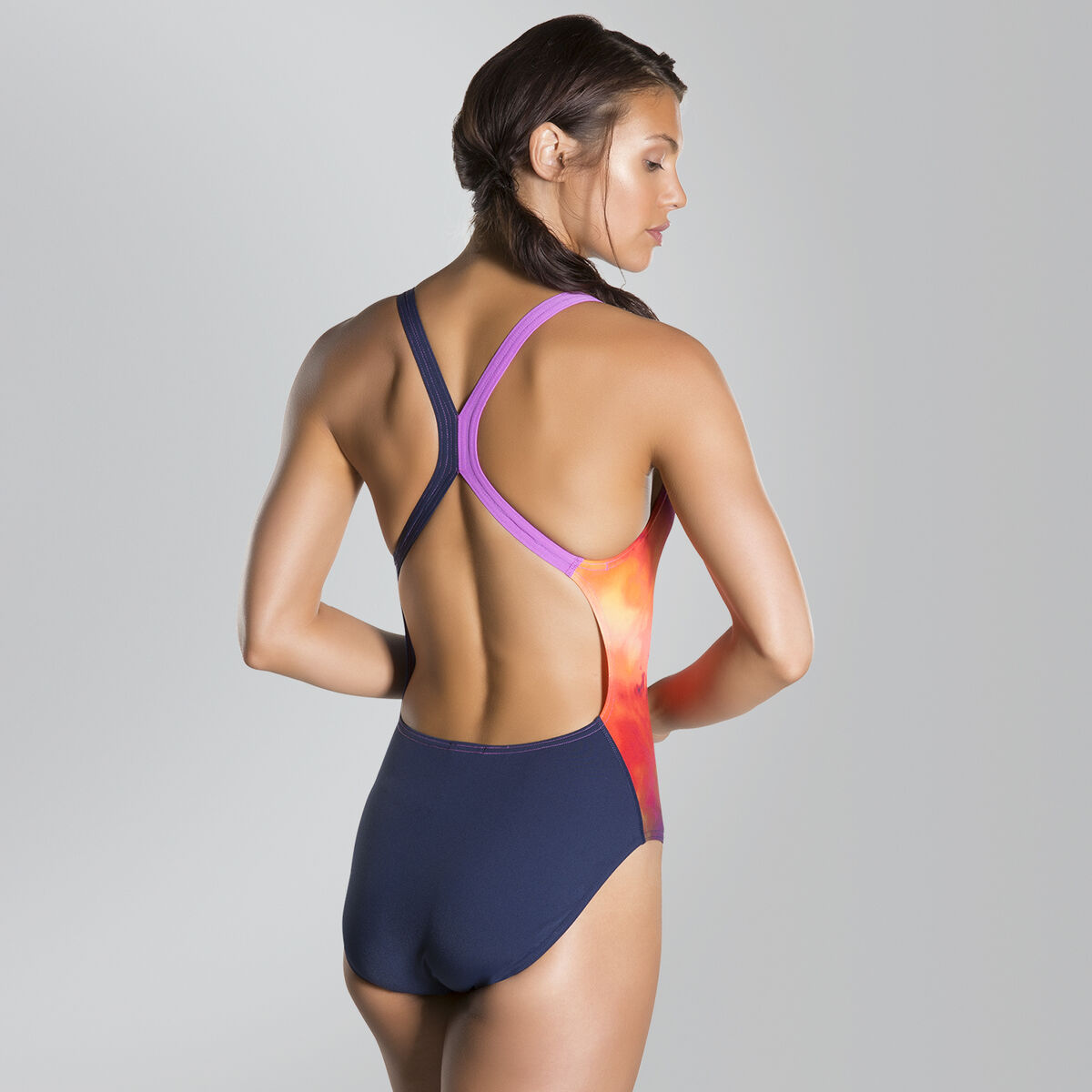 Solarvision Placement Digital Powerback Swimsuit