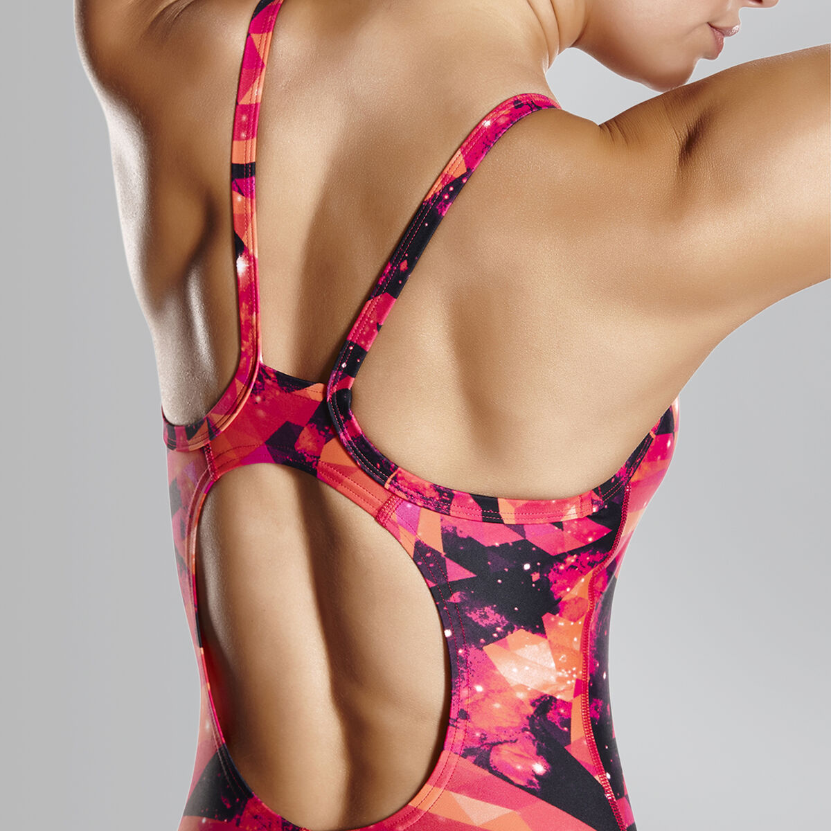 Cosmic Point Thinstrap Muscleback Swimsuit