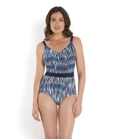 Women's Sculpture Crystalshine Printed Swimsuit