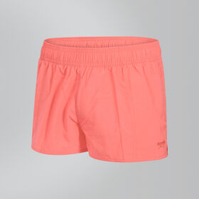 "Female Solid Leisure 10"" Swim Shorts"