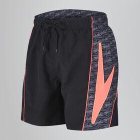 Sports Print Swim Short