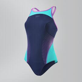 """Speedo Fit Splice Crossback Swimsuit""""/></a>           <a href="""