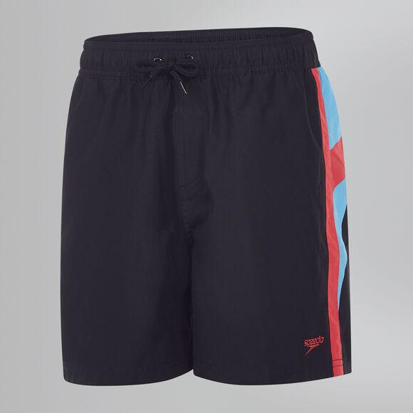 "Logo Yoke Splice 15"" Swim Shorts"