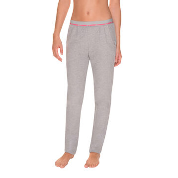 Pantalon de pyjama gris sportswear Femme-DIM
