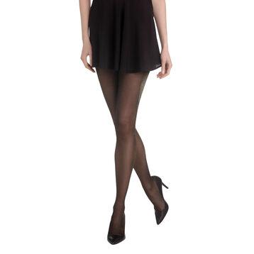 Collant noir lurex Madame So Chic 12D-DIM