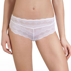 Shorty blanc en dentelle invisible Sublim Pretty-DIM