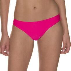 Bas de maillot de bain rose uni Femme-DIM